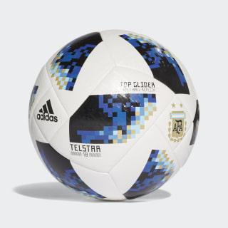 Bola FIFA World Cup Argentina 2018 WHITE/BLACK CE9970