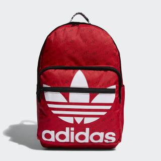Trefoil Pocket Backpack Red CL5499