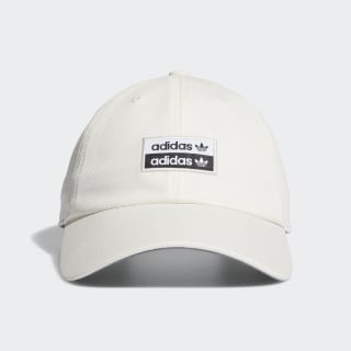 Stacked Forum Strap-Back Hat White CM3872