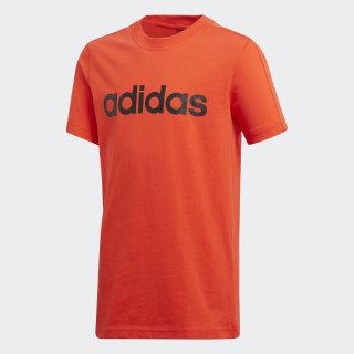 Camiseta Essentials Linear HI-RES RED S18/BLACK CF6544
