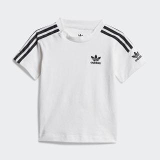 New Icon Tee White / Black FT8800