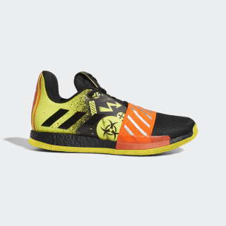 Harden Vol. 3 Shoes Core Black / Shock Yellow / Solar Red FV2592