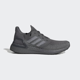 Кроссовки для бега Ultraboost 20 Grey / Cloud White / Grey Three EG0701