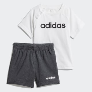 Conjunto Linear Summer White / Black DX2454