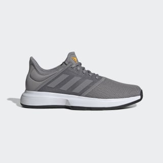 Tênis GameCourt Shoes Grey Three / Grey Three / Core Black EE3816