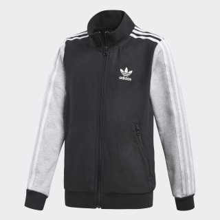 GRPHC BB Track Jacket Black / Carbon / Light Grey Heather / White CF8528