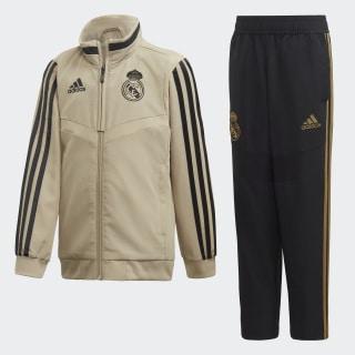 Real Madrid Präsentationsanzug Raw Gold / Black EI7469