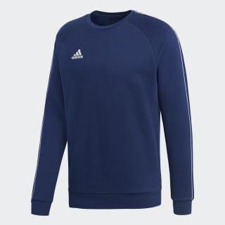 Core 18 Sweatshirt Dark Blue / White CV3959