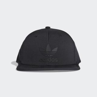 Gorra 3 Franjas Snapback black / black DV0196