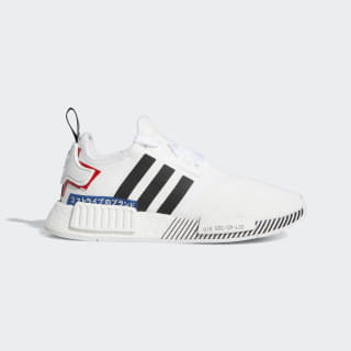 NMD_R1 Shoes Cloud White / Core Black / Lush Blue EF2311
