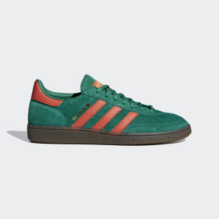 Кроссовки Handball Spezial bold green / raw amber / gum5 BD7620