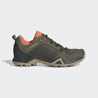 Sapatos de Caminhada AX3 TERREX Raw Khaki / Legend Earth / Semi Coral G26545