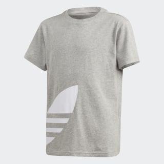 Big Trefoil-T-Shirt Medium Grey Heather / White FT8812