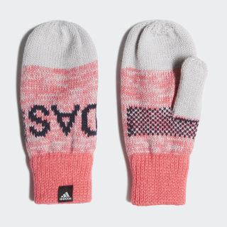 Graphic Mittens Grey Two / Real Pink / Collegiate Navy ED8624