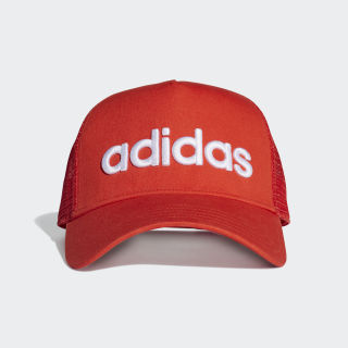 Gorra Curved Trucker active red/active red/white ED0317