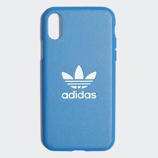 Basic Logo Case iPhone X Bluebird / White CK6160