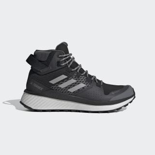 Terrex Folgian Hiker Mid GORE-TEX Hiking Shoes Core Black / Grey Four / Green Tint EF2274