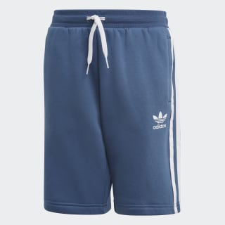 Fleece shorts Night Marine / White FM5651