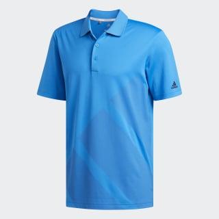 Bold 3-Stripes Polo Shirt Bright Blue DN3396
