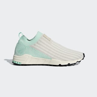 EQT SUPPORT SOCK 1/3 PK W Clear Brown / Chalk White / Clear Mint AQ1210