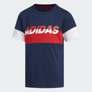 Remera LB PES TEE collegiate navy/white EH4045