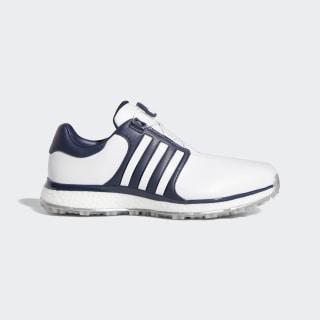 Tour360 XT-SL Boa Wide Shoes Ftwr White / Collegiate Navy / Gold Met. F34189
