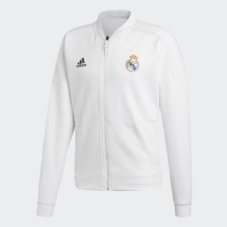 Real Madrid adidas Z.N.E. Fermuarlı Üst Core White / White CY6098