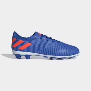 Nemeziz Messi 19.4 Flexible Ground Cleats Football Blue / Solar Red / Solar Yellow EG3319