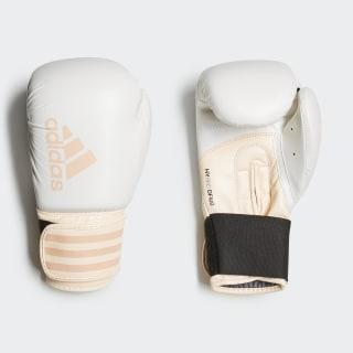 Hybrid 100 Dynamic Fit Boxing Gloves White / Clear Orange CJ9783