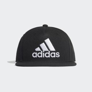 Snapback Logo Cap Black / Black / White FK0855