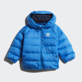 Real Down Jacket Bluebird / Collegiate Navy / White Reflective ED7675
