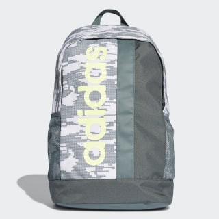 Mochila Estampada Linear Graphic raw white / legend ivy / hi-res yellow DT5658