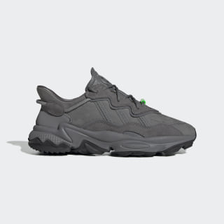 Scarpe OZWEEGO TR Carbon / Core Black / Solar Green EE7001
