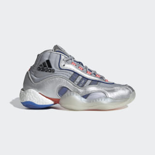 98 x Crazy BYW Ayakkabı Silver Metallic / Power Blue / Shock Red EF5537
