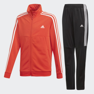 Tiro Tracksuit Active Red / White DX2468