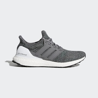 Ultraboost Shoes Grey Four/Grey Four/Hi-Res Green CP9251