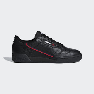 Chaussure Continental 80 Core Black / Scarlet / Collegiate Navy G27707