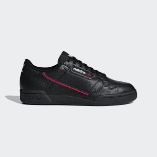 Tenis Continental 80 Core Black / Scarlet / Collegiate Navy G27707