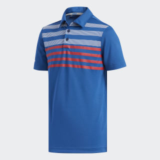 Chest Stripe Fashion Polo Shirt Dark Marine DQ2075