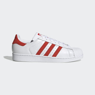 Superstar Shoes Cloud White / Active Red / Cloud White EF9237
