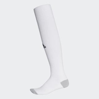 ถุงเท้า Milano 16 Socks จำนวน 1 คู่ White / Black AJ5905