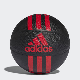 3-Stripes Mini Basketball Black / Red X53046