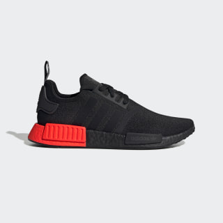 NMD_R1 Shoes Core Black / Core Black / Solar Red EE5107