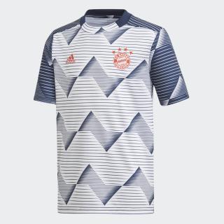 FC Bayern München Pre-Match Voetbalshirt White / Collegiate Navy EJ3244