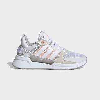 Tênis Run 90s Cloud White / Cloud White / Glow Pink EF0587