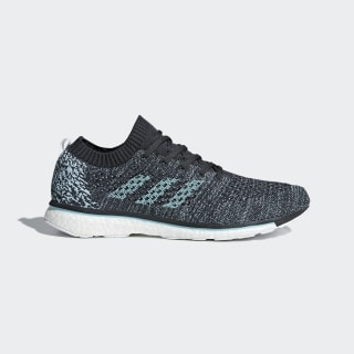 Adizero Prime Parley Shoes Carbon / Blue Spirit / Cloud White DB1252