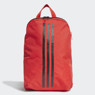 Morral Classic 3 Rayas Vivid Red / Black / White FN0983