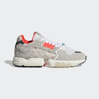 ZX Torsion Shoes Cloud White / Crystal White / Solar Red EH0251