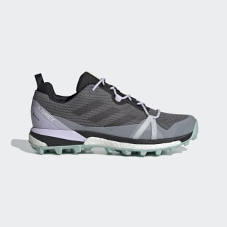 Terrex Skychaser LT GORE-TEX Hiking Shoes Grey Four / Core Black / Green Tint EF3351