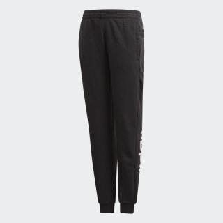 Pantalón YG E LIN PANT Black / White DV0334